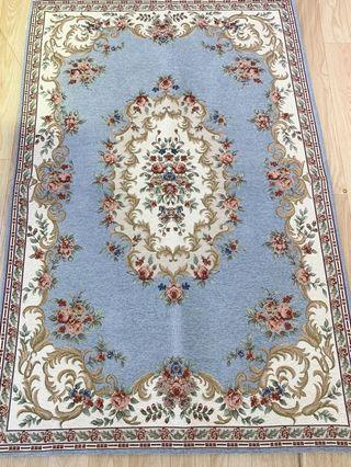 Coral blue big size carpet
