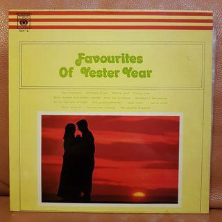 Reserved: (Mint) Favourites Of Yester Year vinyl records