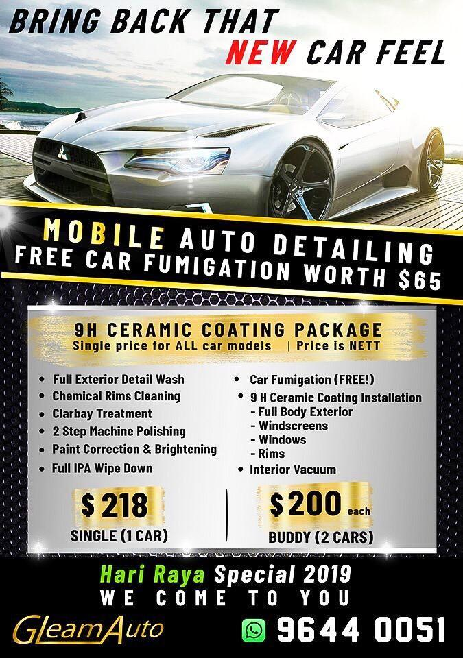 🇩🇪 9H Ceramic Coating PROMO!! 🇩🇪 Top Quality Germany