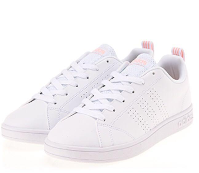 Adidas women vs advantage clean cl sneakers pink