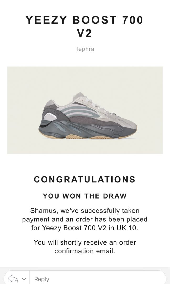 b59300765 Adidas Yeezy Boost 700 V2 Tephra, Men's Fashion, Footwear, Sneakers on  Carousell
