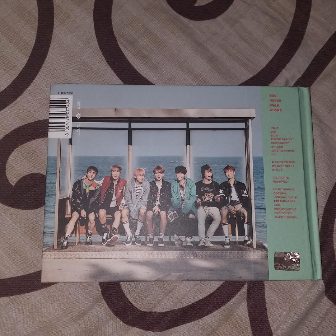 album BTS You Never Walk Alone (mint version)