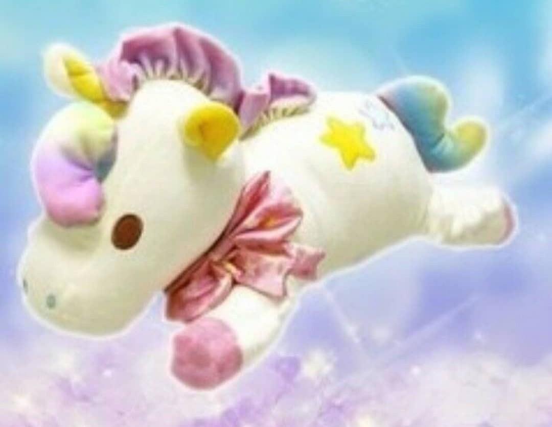 日本Amuse Unicorn Little Twin Star 獨角獸公仔