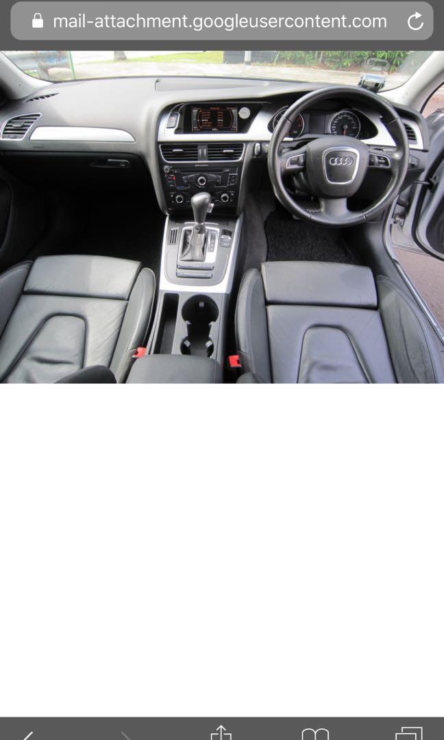 Audi A4 Auto Sedan 1.8