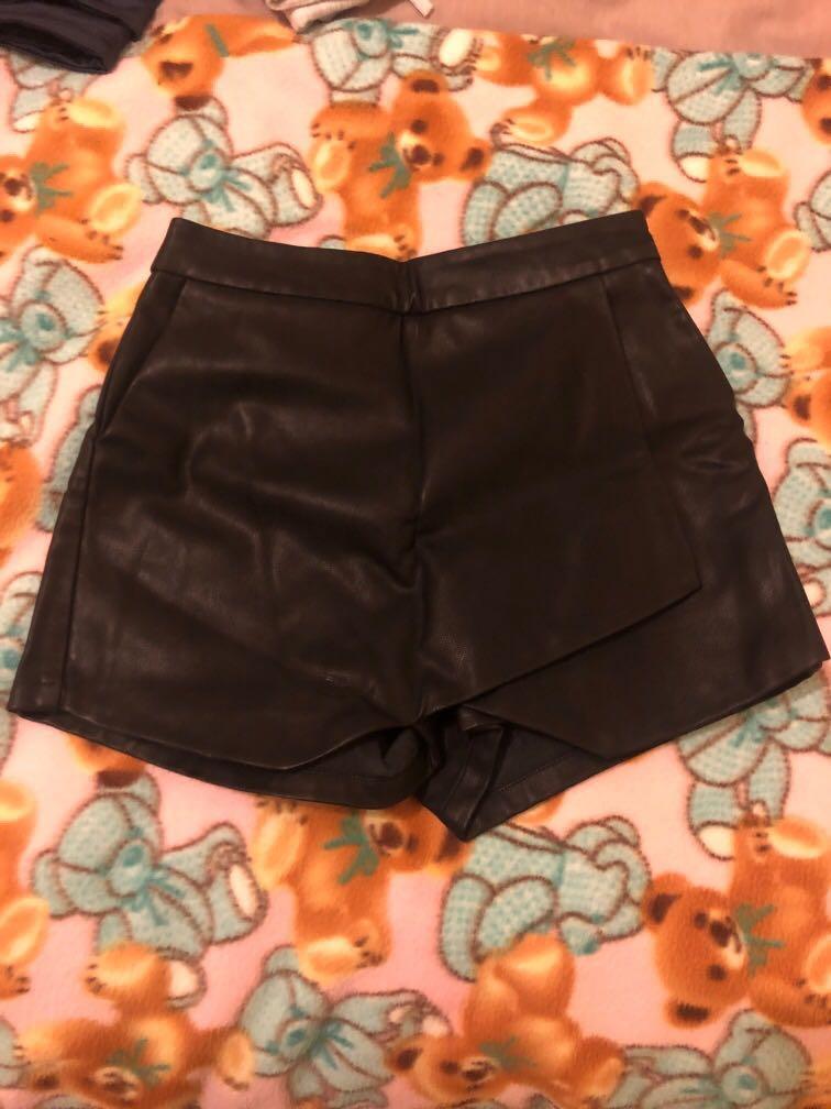 Bardot Leather Skort 6