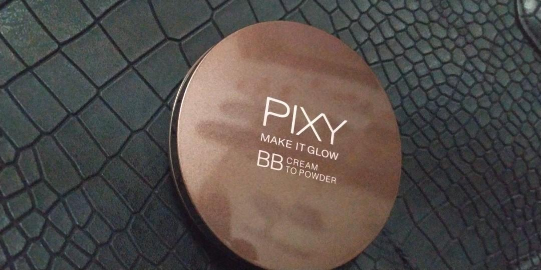 BB cream to powder