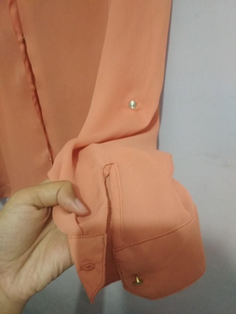 Blouse Orange Hammer