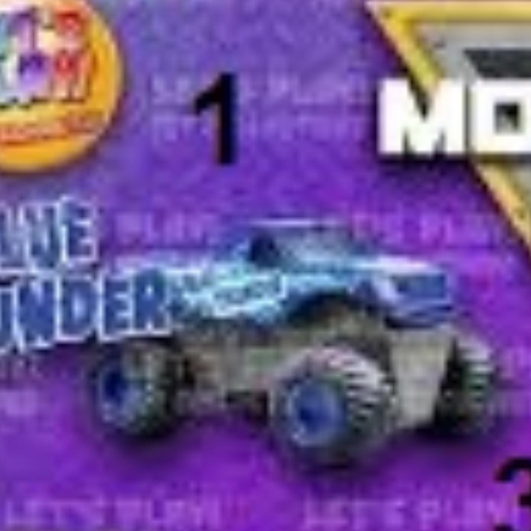 Blue Thunder - Monster Jam Happy Meal Mc Donald 2018
