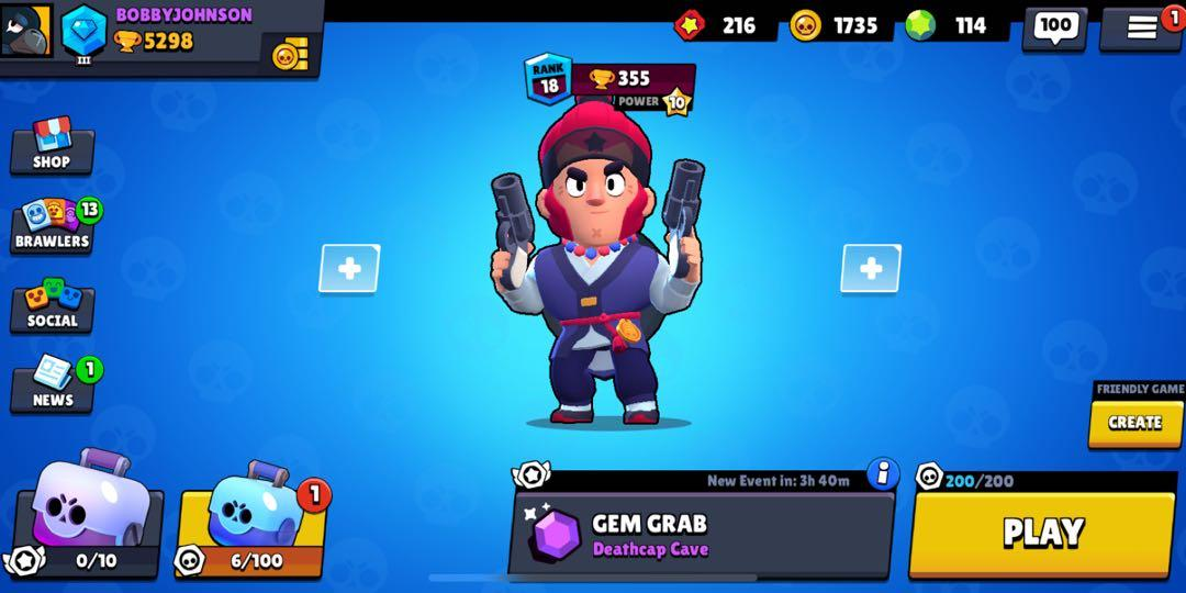 Brawl stars account, Toys & Games, Video Gaming, Video Games on Carousell