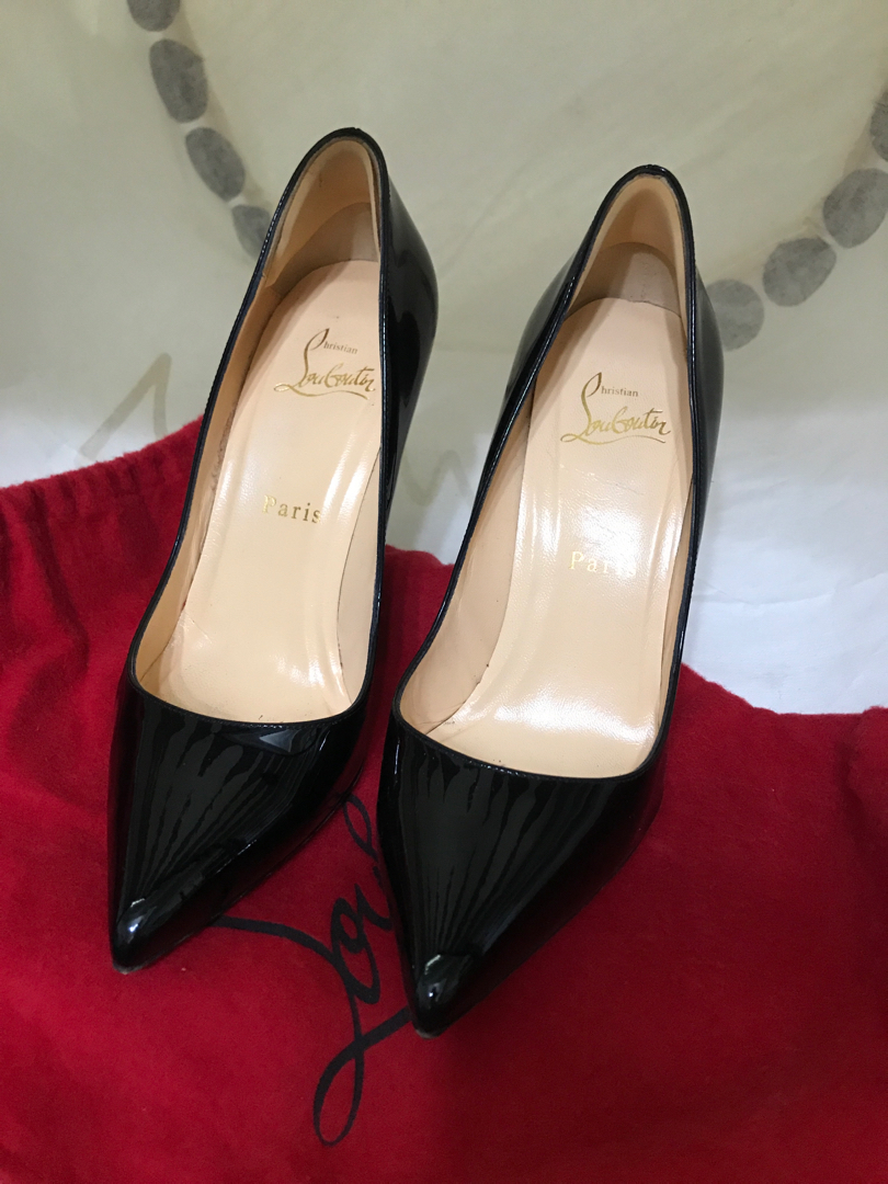 3beb17c3ef3 Christian Louboutin Pigalle 100mm size 36