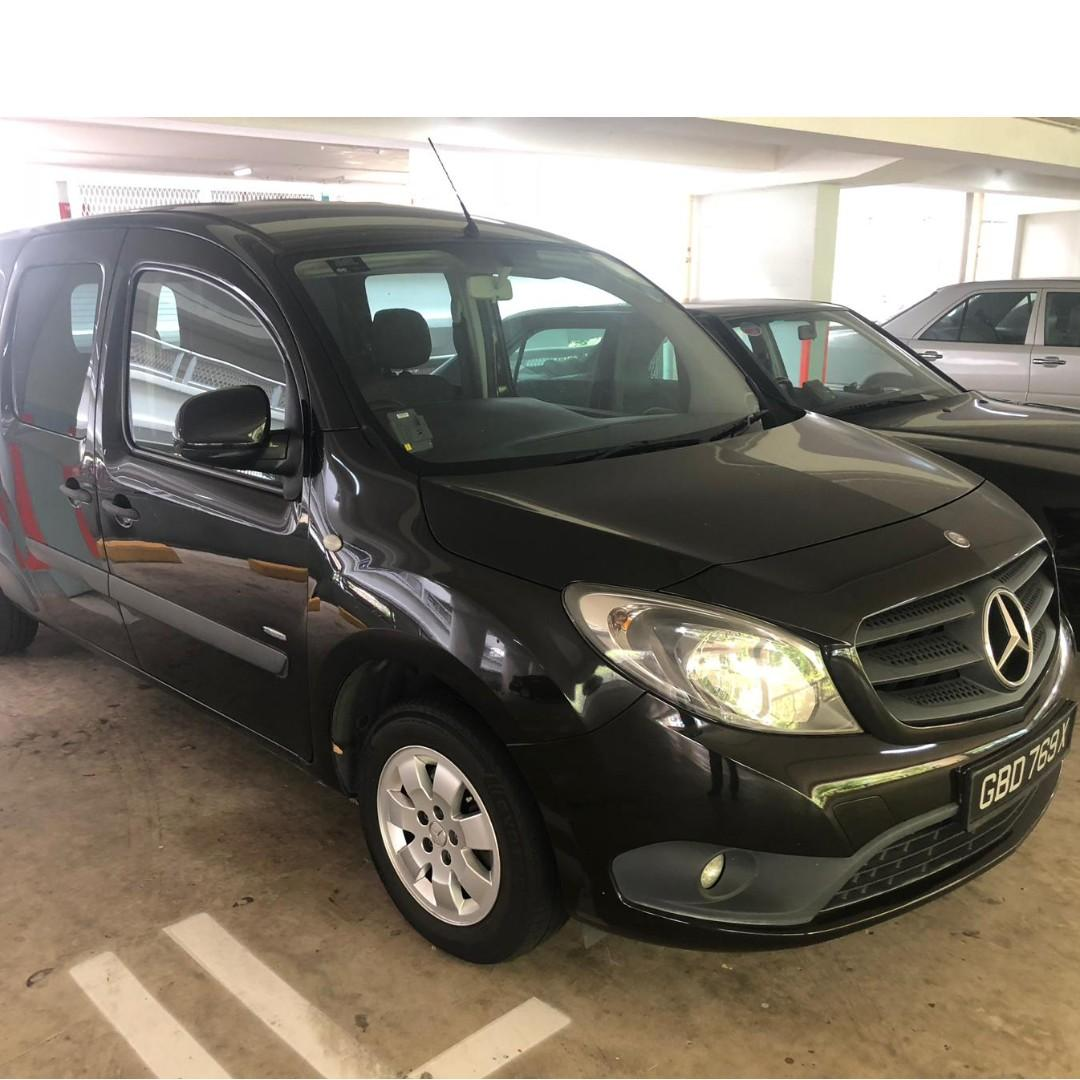 Citan Mercedes Van and Mercedes Benz W124 for rental