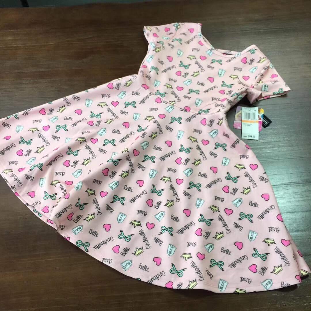 Disney princess kids dress