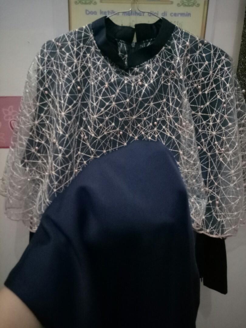 DRESS BRIDESMAID/KEBAYA BIRU DONGKER