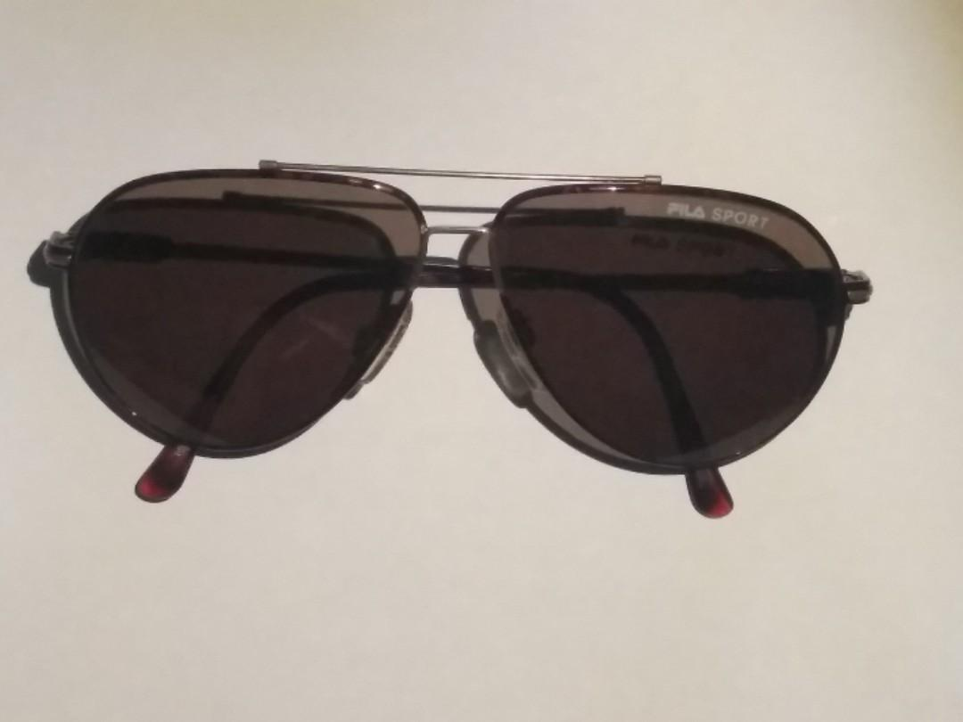 FILA Summer Tiger Pattern Sunglasses (Bisex)