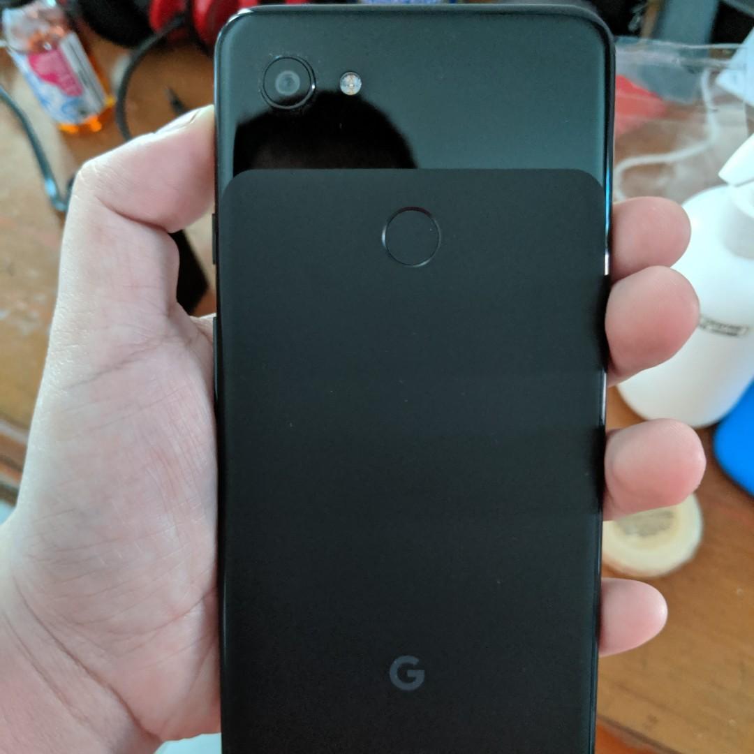 Google Pixel 3a XL 64 Gb Black + Fabric Case (Color : Fog)