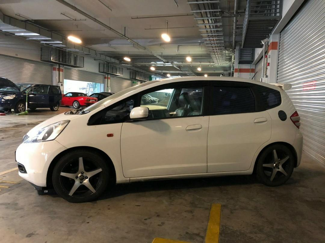 Honda Fit Auto For Rental