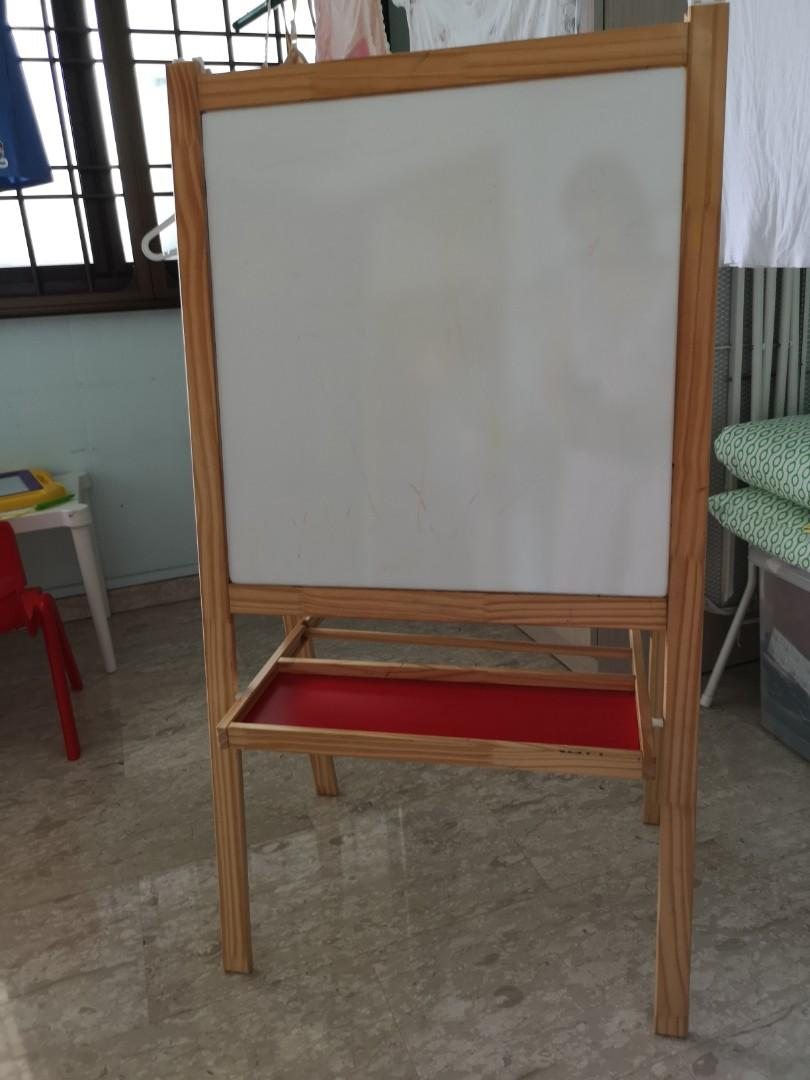 Ikea Easel Stand Drawing Blackboard And Whiteboard Furniture Others On Carousell