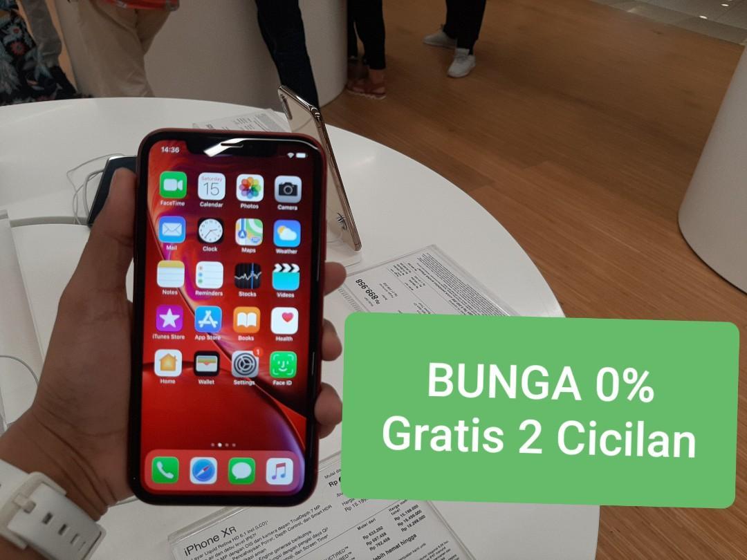 Iphone xr bisa cicil pake ktp garansi resmi ibox bunga 0%