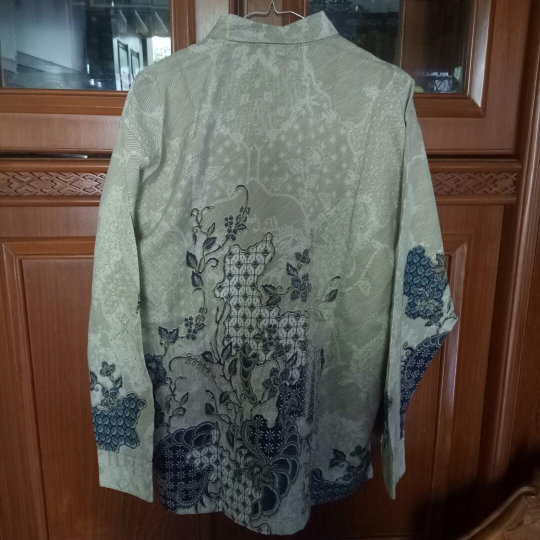 Kemeja Panjang Batik