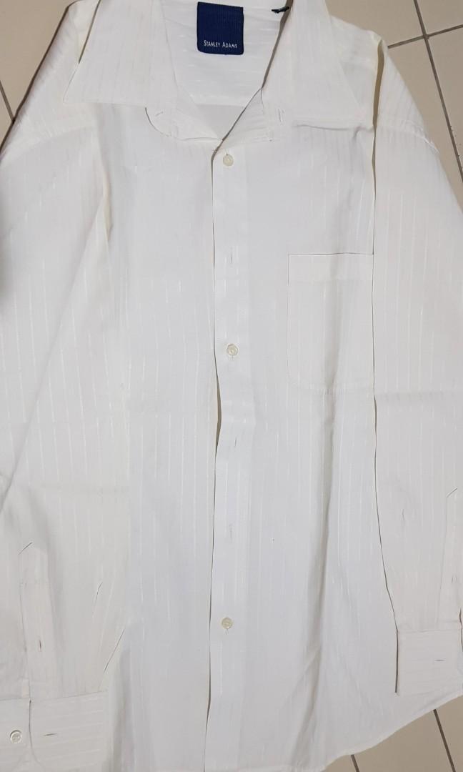 Kemeja Putih stanley adams