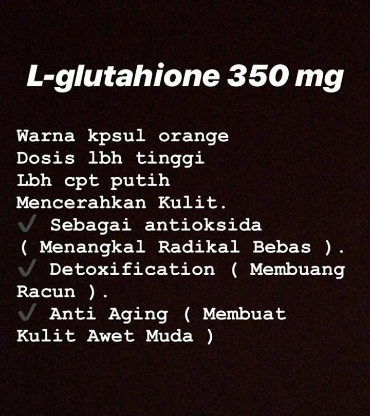L-glutahione 350mg