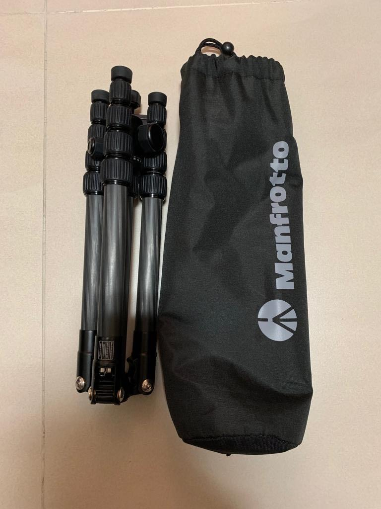 Manfrotto MKELES5CF-BH carbon fibre tripod