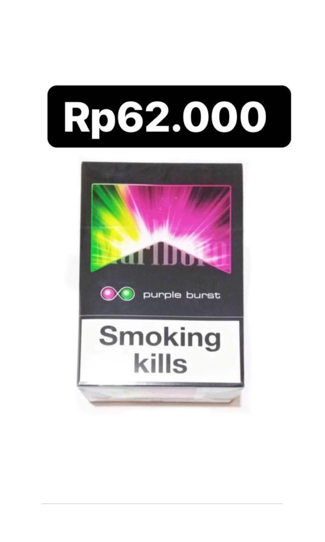 Marlboro Chamber & Purple Burst