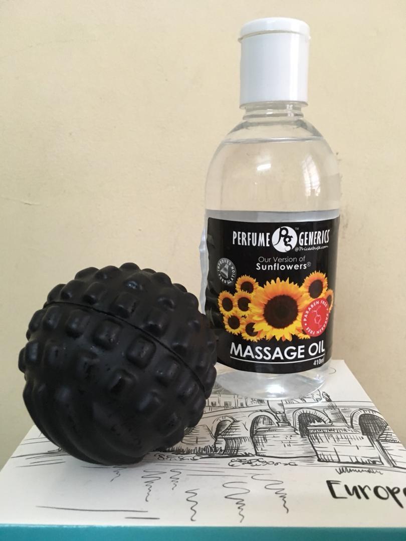 Massage Oil Sunflower