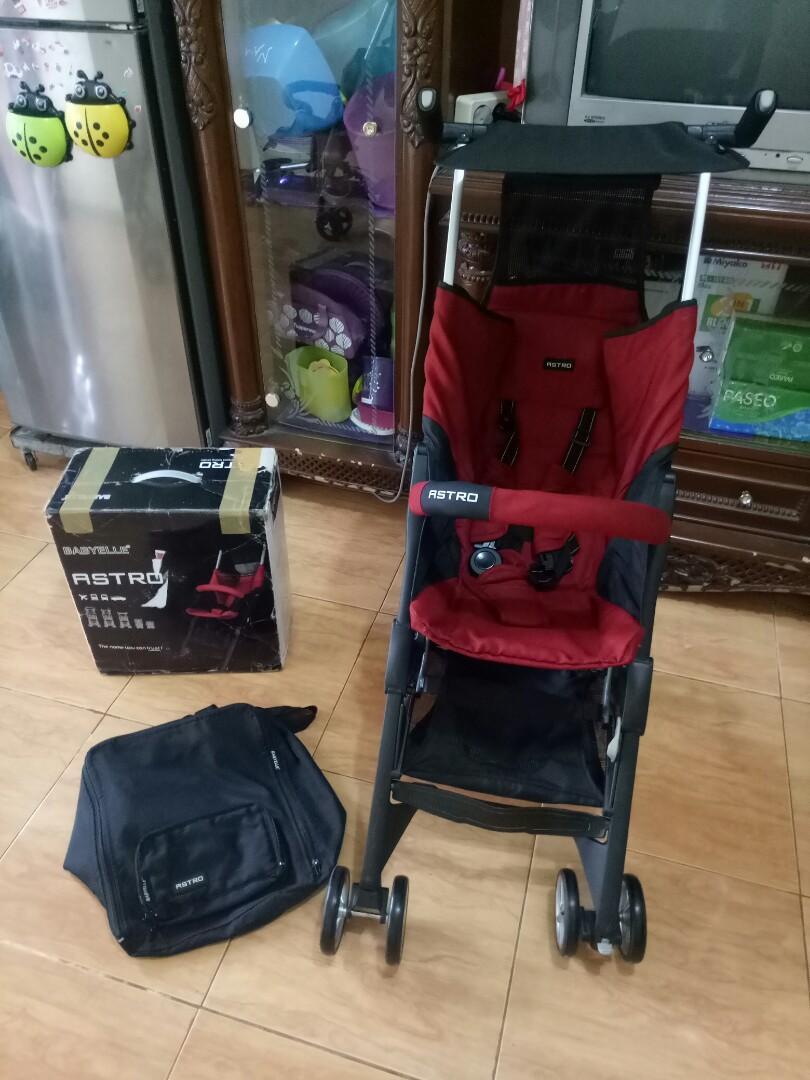 New babyelle astro recline