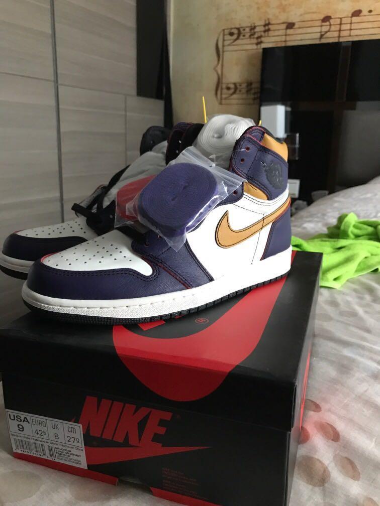 Nike Air Jordan 1 LA TO CHICAGO