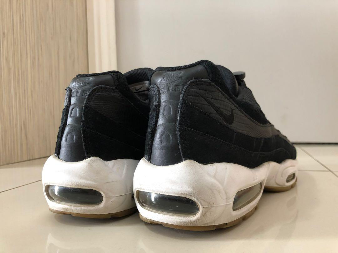 Nike Air Max 95 PRM Black White Gum