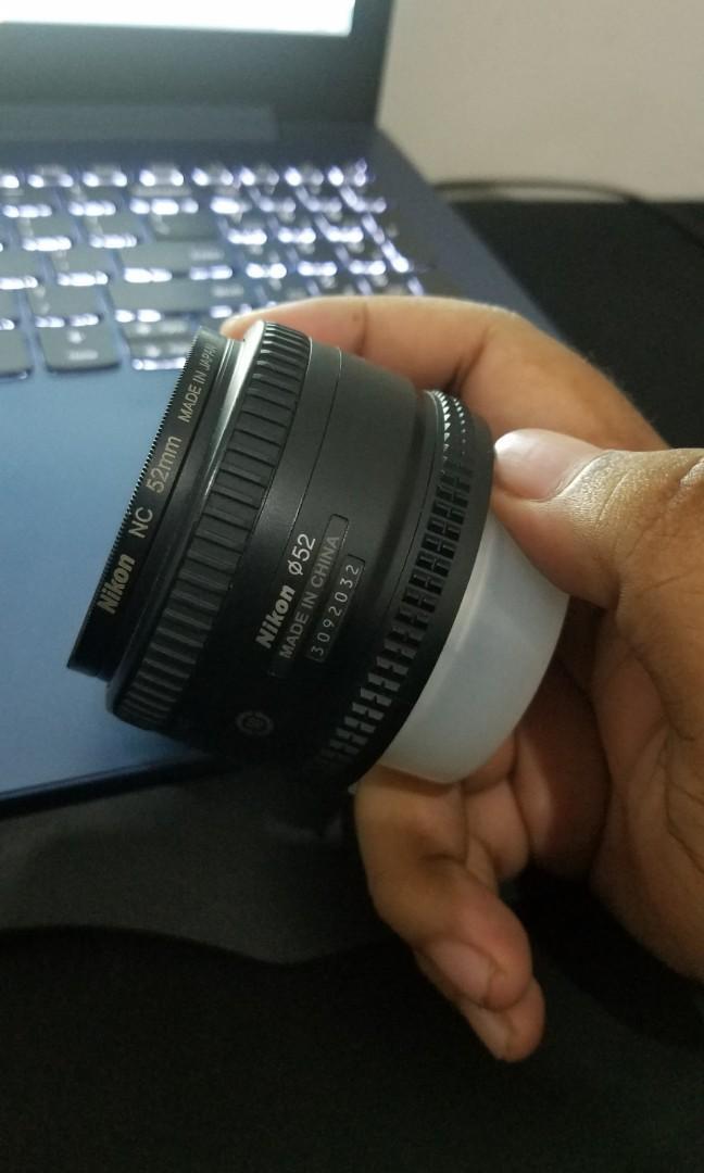 Nikkor AF 50mm f1.8