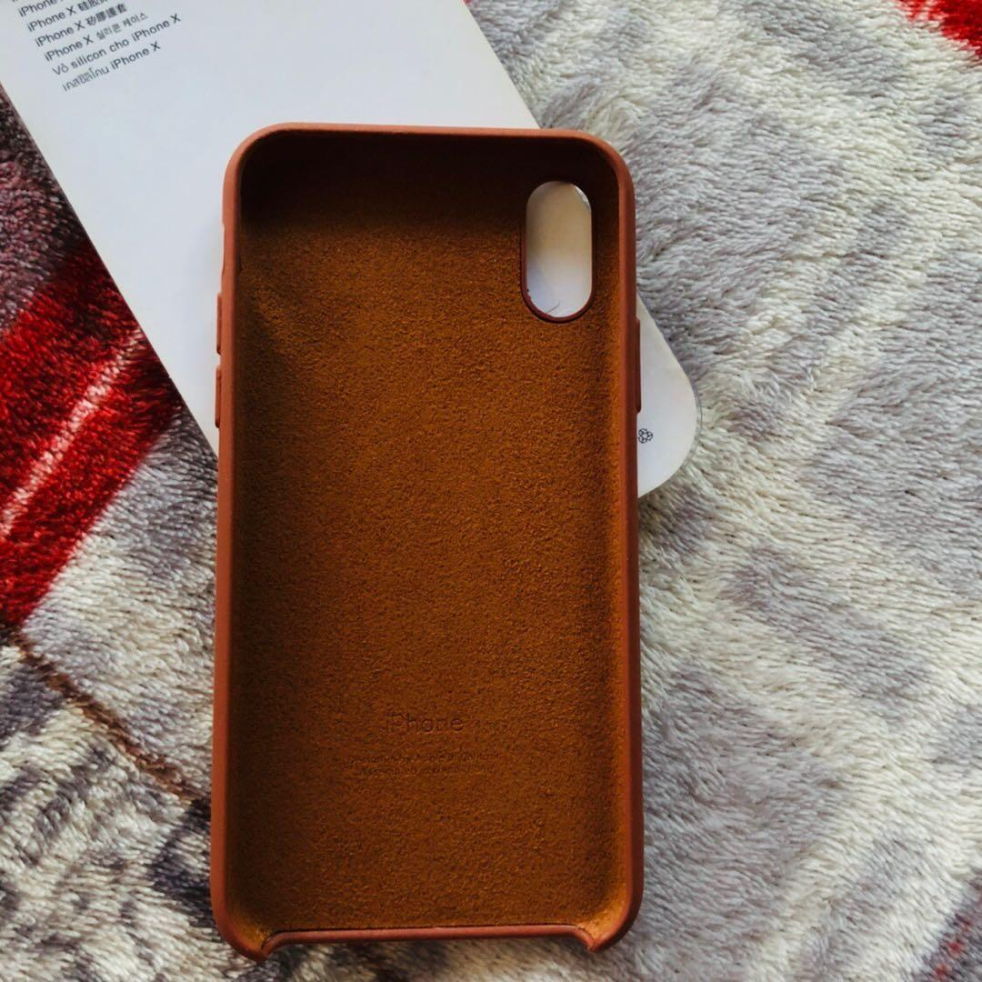 Original apple silicone Case iPhone X