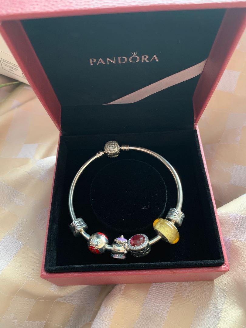 Pandora Beauty And The Beast Charm Bracelet Women S Fashion Jewelry Bracelets On Carousell