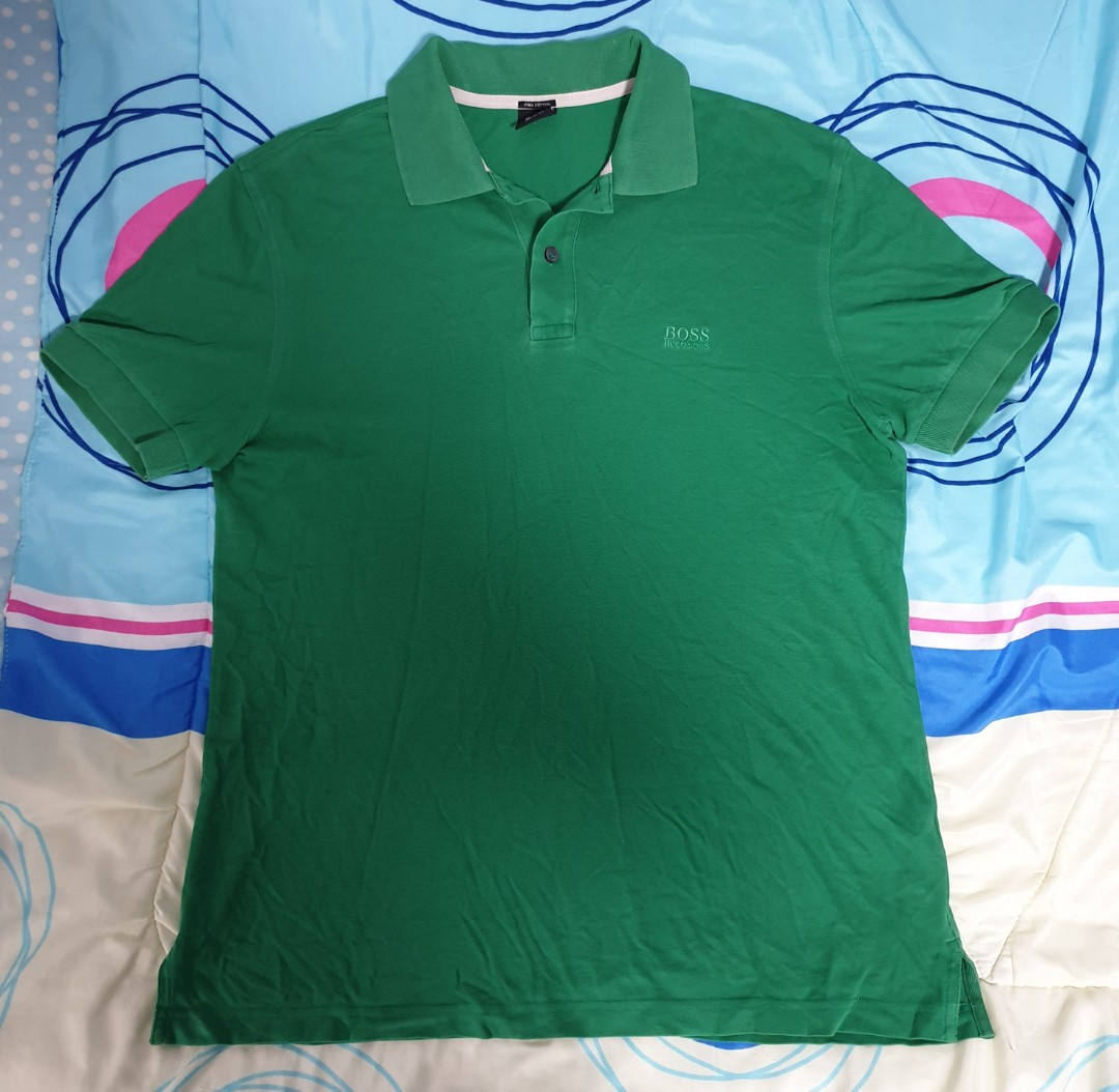 7e2a8035b4ff2 Preloved Hugo Boss Shirt, Men's Fashion, Clothes, Tops on Carousell