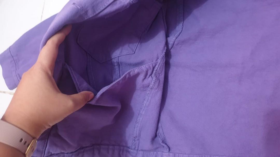 Pull&Bear Purple Denim