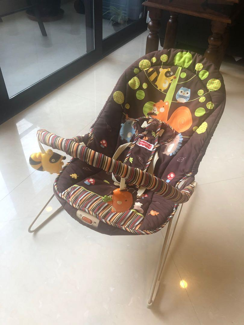 Surprising Rocking Chair Vibrating Chair Fisher Price Babies Kids Short Links Chair Design For Home Short Linksinfo