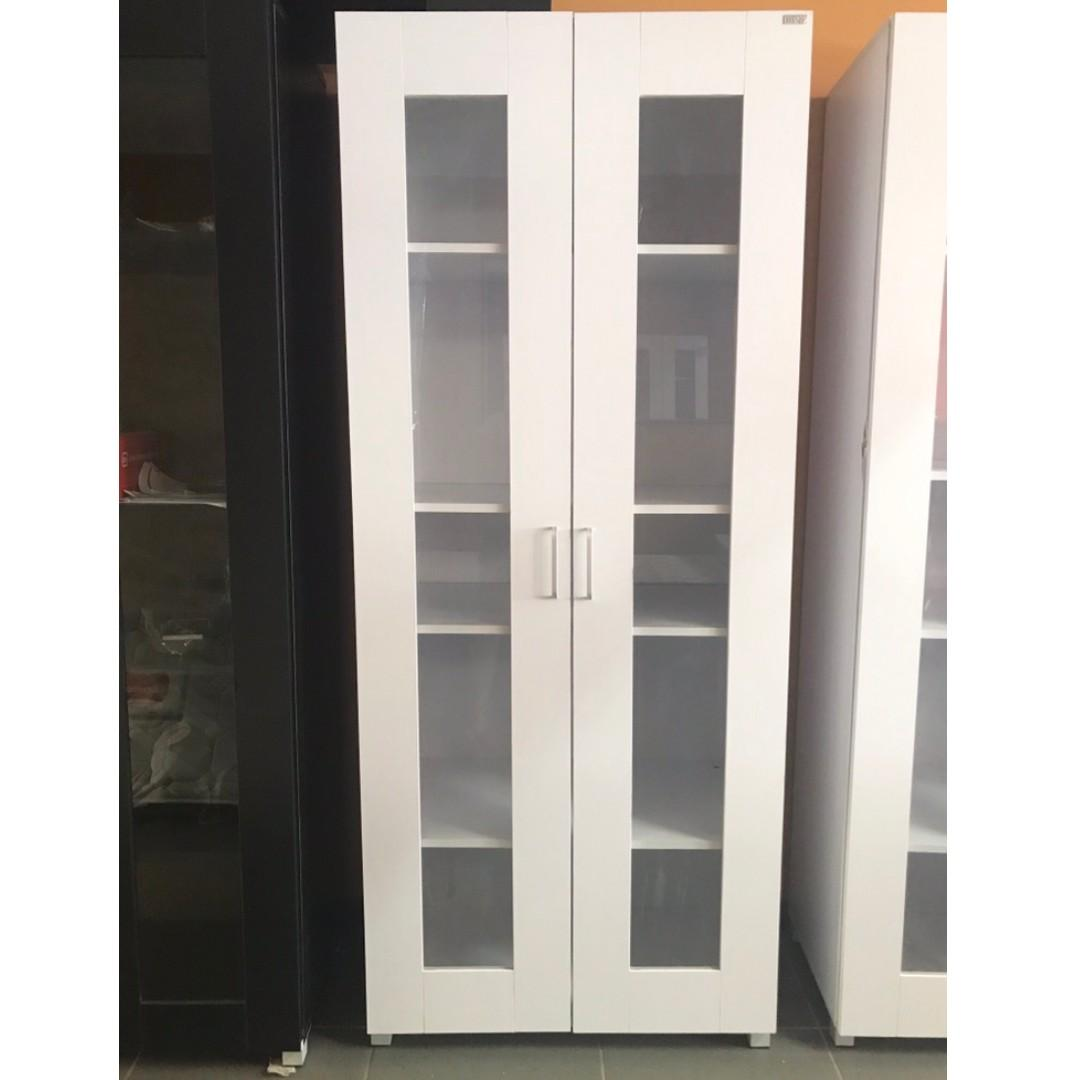 Selling Brand new 2 door 5 shelves Cupboard/ pantry ( White/ Black) at $220
