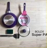 Super Pan 5 Pcs Ungu - Panci Masak Set Termurah