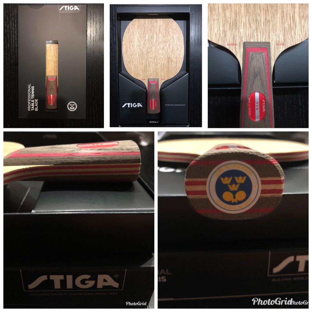 DISCOUNT!!! Table Tennis Blade: Stiga Clipper Wood Chinese