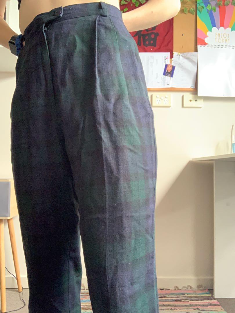Tartan pants