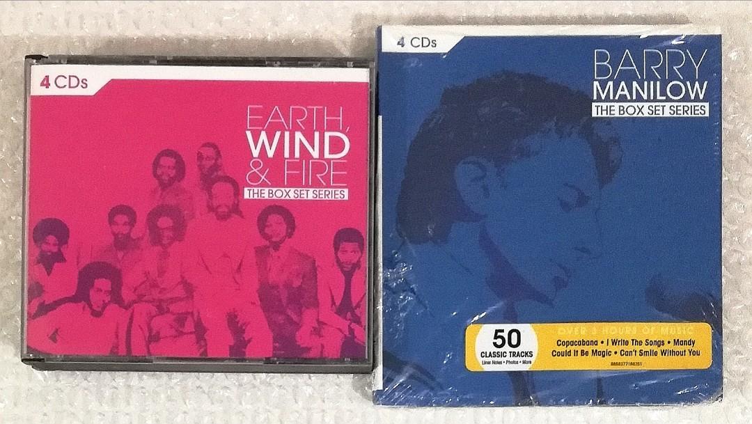 The Box Set Series - 4 CDs Earth, Wind & Fire_Good condition Barry Manilow_New