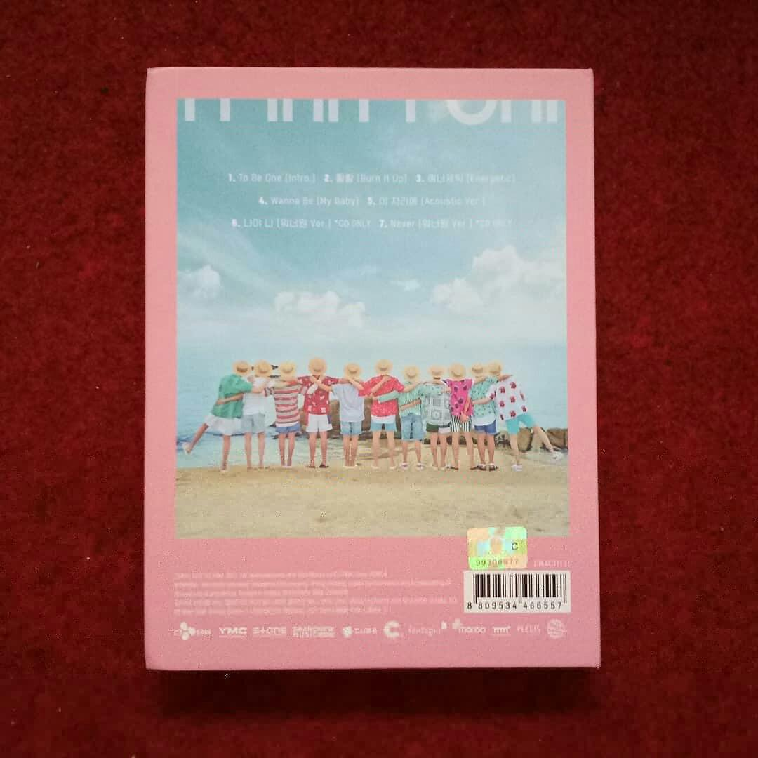 WANNA ONE - To Be One (TBO) Album only