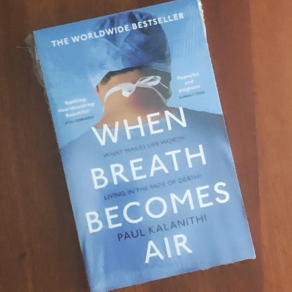 When Breath Becomes Air by Paul Kalanithi #joinjuli