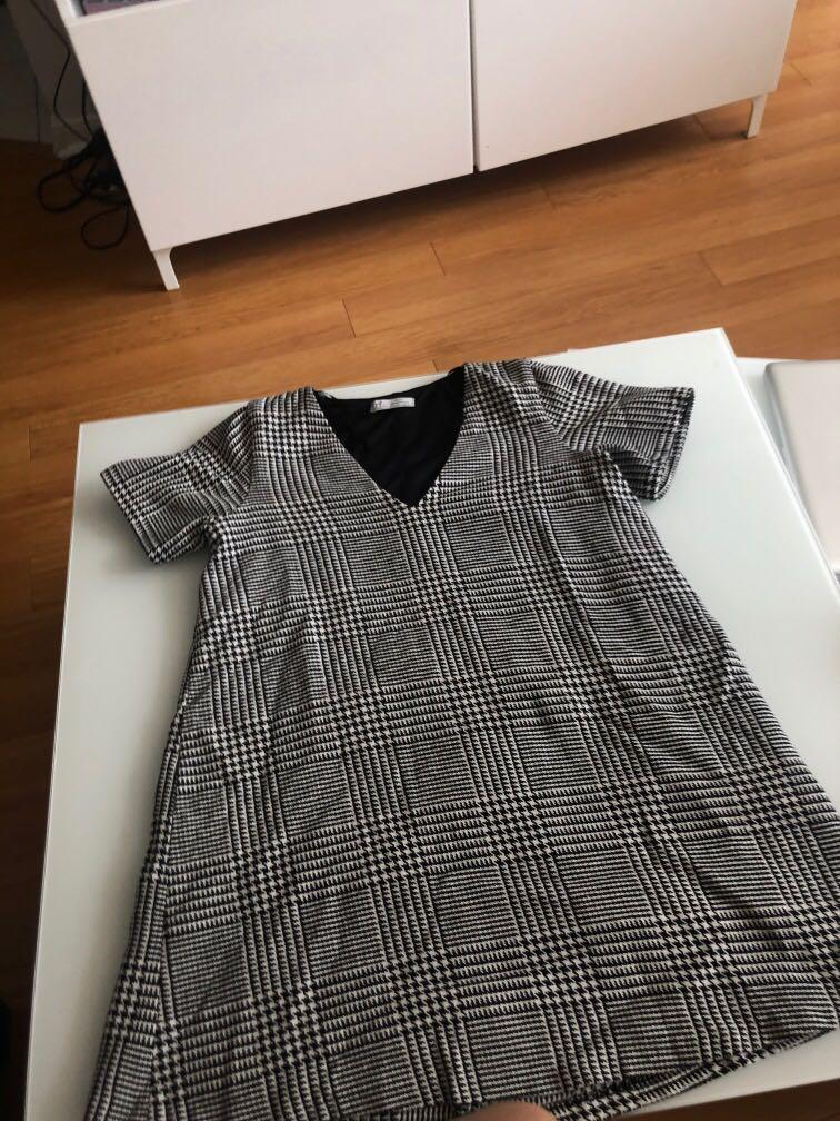 Will sell both Zara dresses for 30 - size small and cute for work!