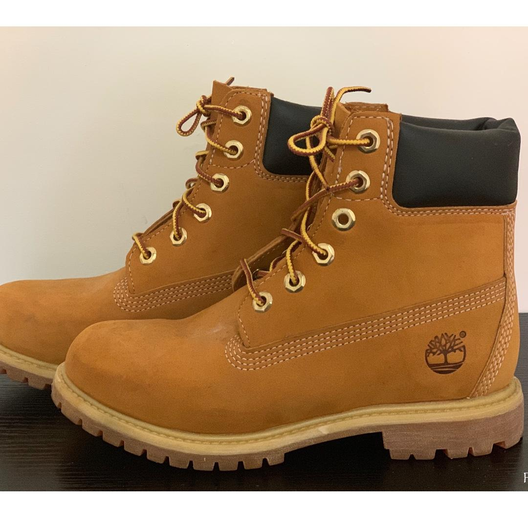 Timberland Boots Size 6, Women's Fashion, Shoes, Boots on