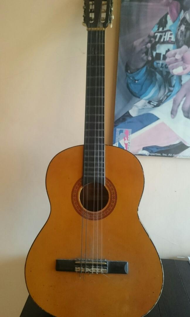 Yamaha CG 40 Acoustic Guitar, Gitar Akustik, Music & Media