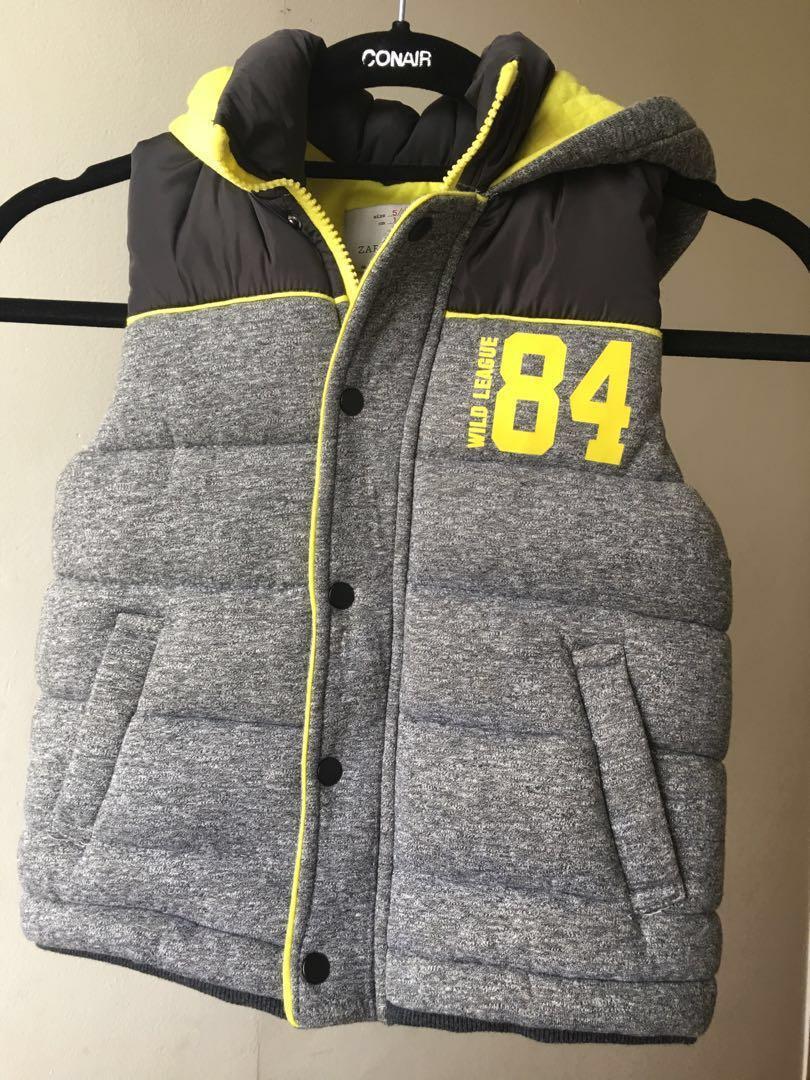 66220d9a5 Zara Boys Vest size 5/6, Babies & Kids, Boys' Apparel, 4 to 7 Years ...