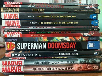 🚚 Marvel / DC TPBs and Hardcover
