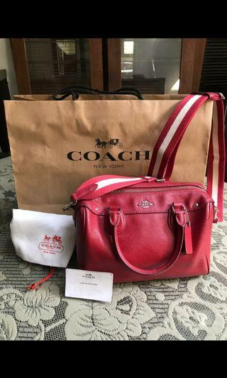 Coach Bennet merah limited edition
